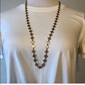 TORY BURCH-Gold Signature Nordstrom Chain Necklace
